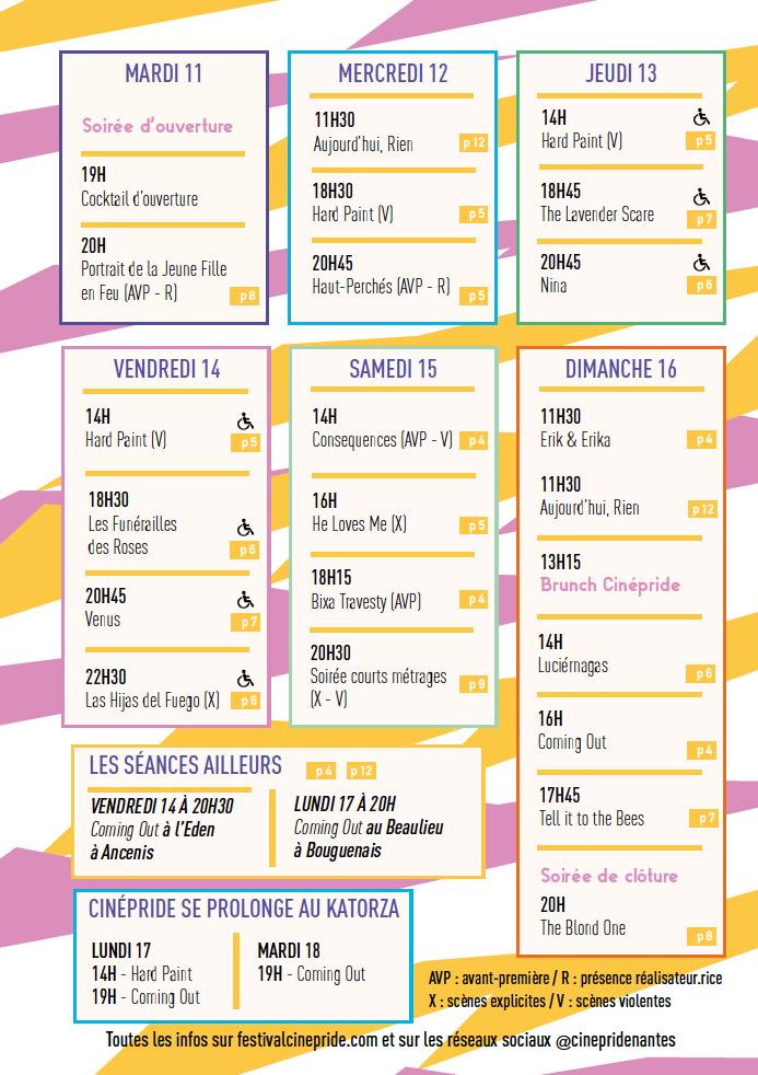 Programme 10 - Festival Cinépride