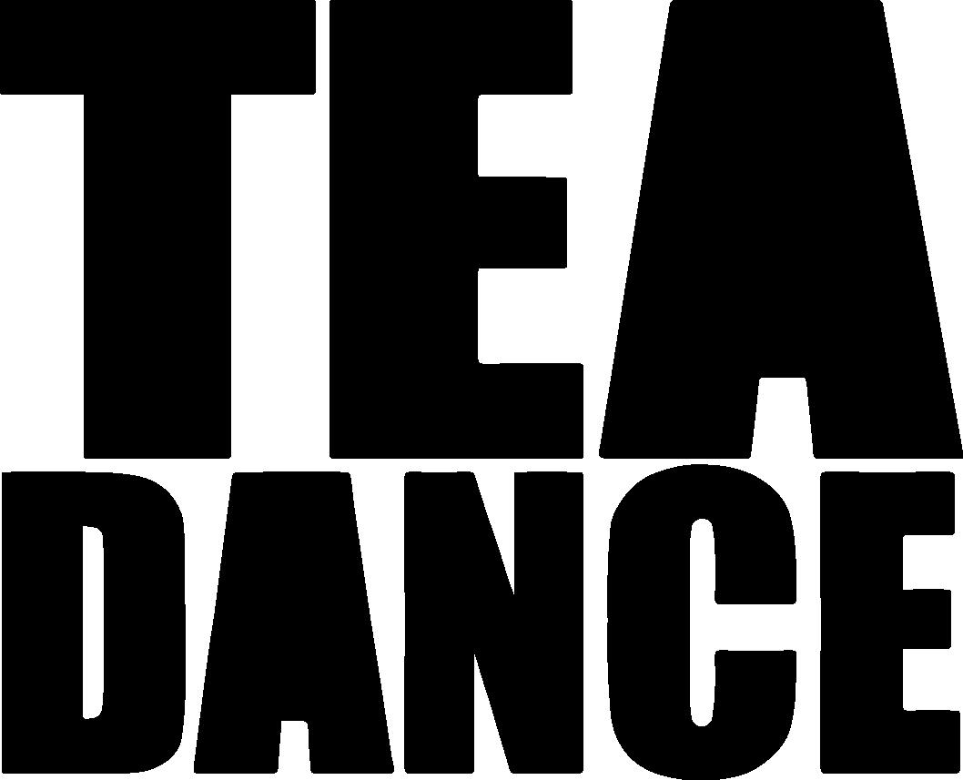 Logo TEA DANCE noir